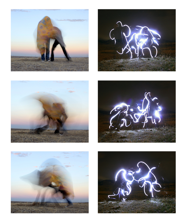 Tobias Fike - Repeated failures of trying to do what we thought we were doing #15, #19, #18 and Night Tracing #3, #4, #6