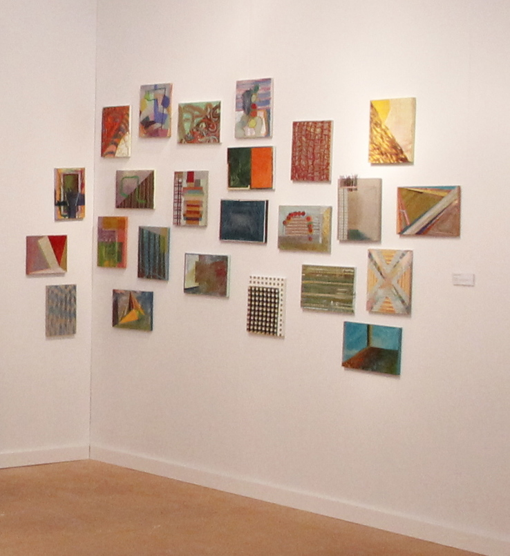 Bruce Price - Installation view (9x12 paintings)