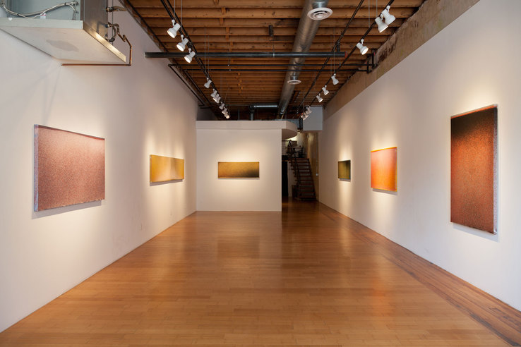 John Knuth - Installation view