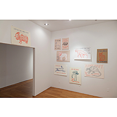 Dave Eggers Installation view