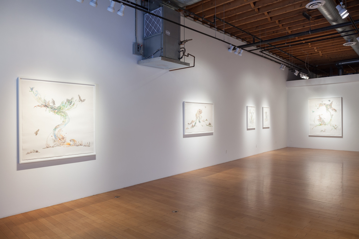 Laura Ball - Installation view