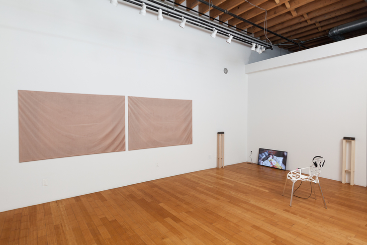 Adam Milner - Installation view