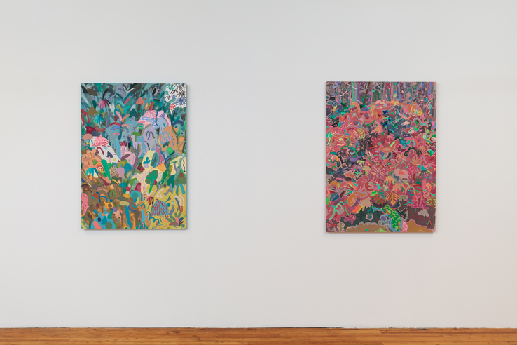 Leon Benn - Installation view