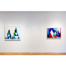 Liz Nielsen and Dylan Gebbia-Richards Installation view