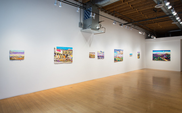 Justin Favela - Installation view