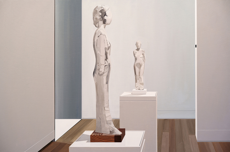 Sarah McKenzie - Faceless, Armless Women (Yale University Art Gallery with Manuel Neri, 2018)