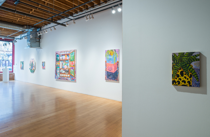 Anna Valdez - Installation view