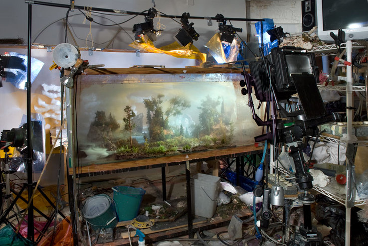 Kim Keever - Kim Keever Studio Views